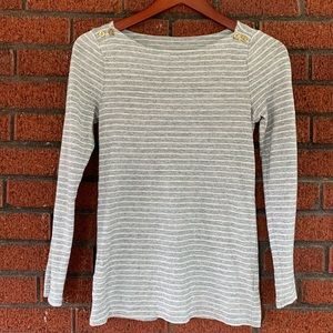 J. Crew Striped Painter Tee Size Small
